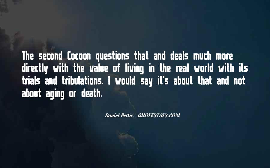 Without Trials And Tribulations Quotes #333567