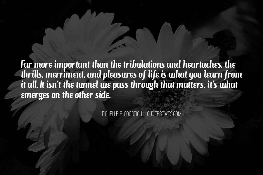 Without Trials And Tribulations Quotes #595981
