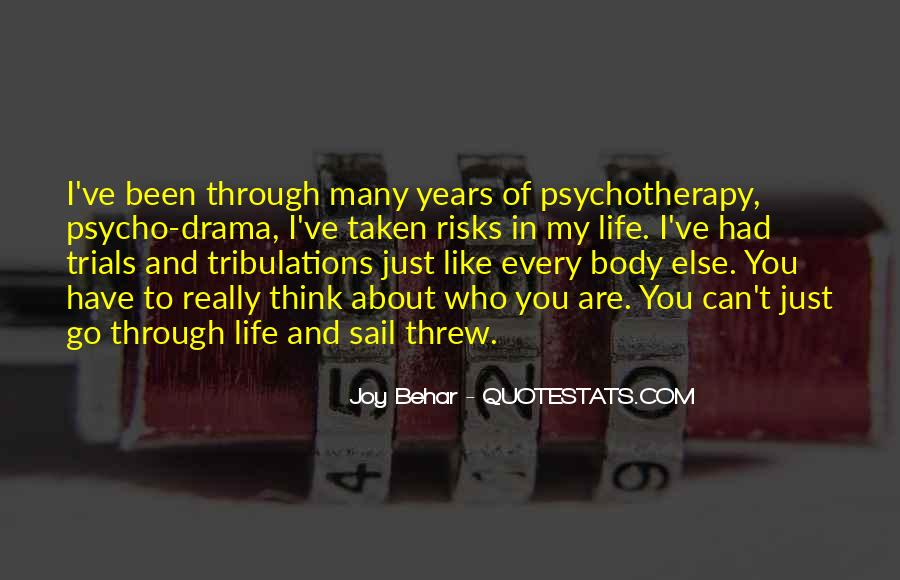 Without Trials And Tribulations Quotes #759870