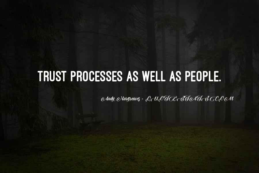 Without Trust You Have Nothing Quotes #810