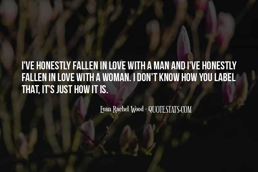 Woman And Man Love Quotes #154185