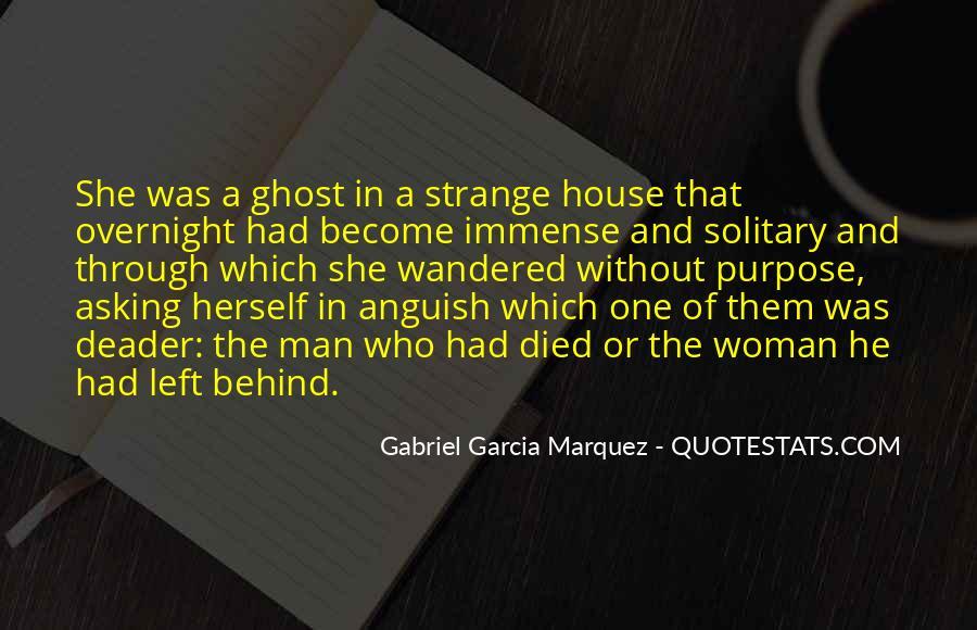 Woman Behind Man Quotes #1739454