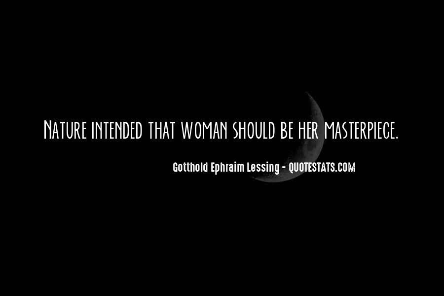 Woman Masterpiece Quotes #924790
