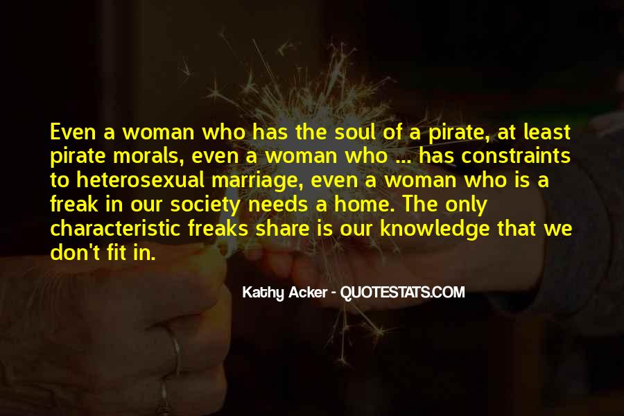 Woman Needs Quotes #172576