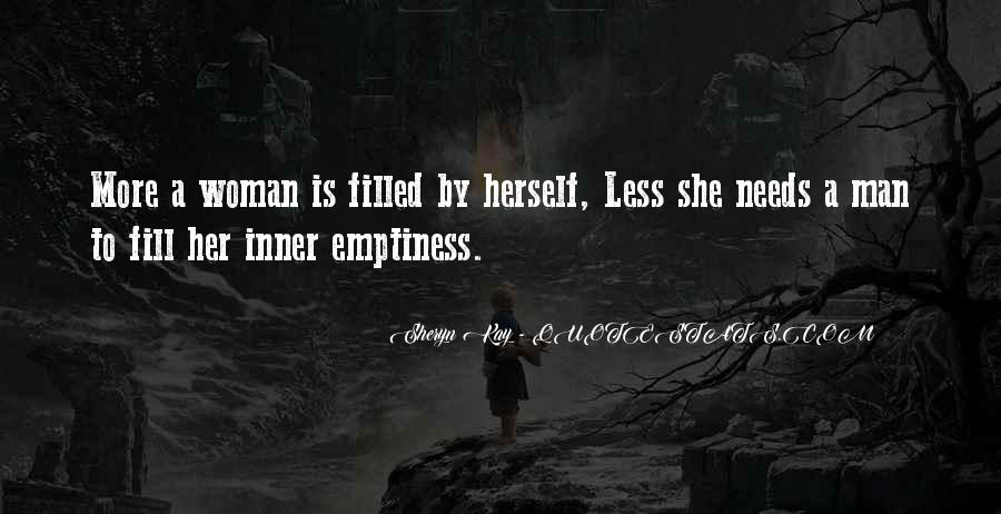 Woman Needs Quotes #235661