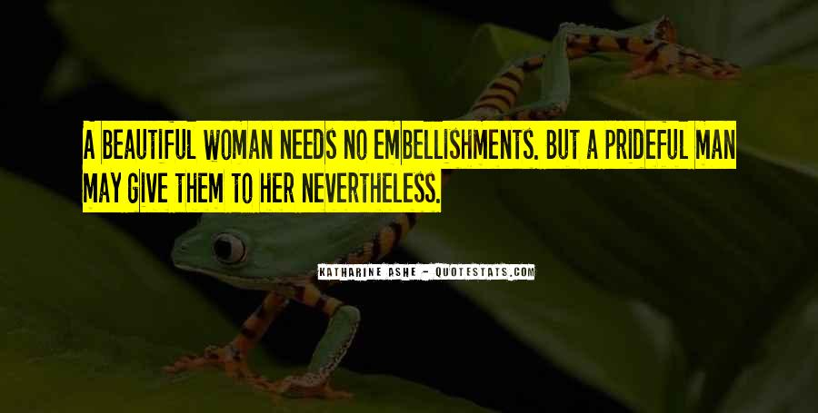 Woman Needs Quotes #474660