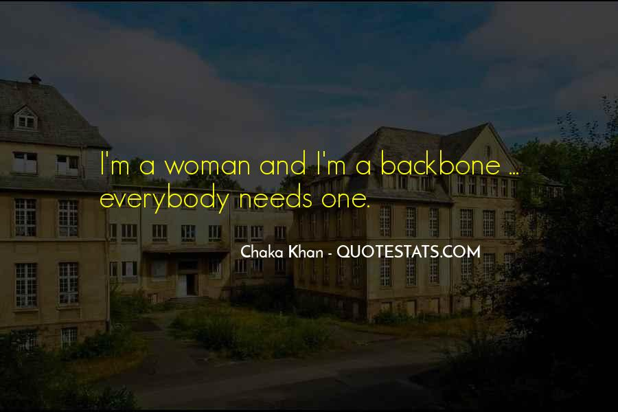 Woman Needs Quotes #527310