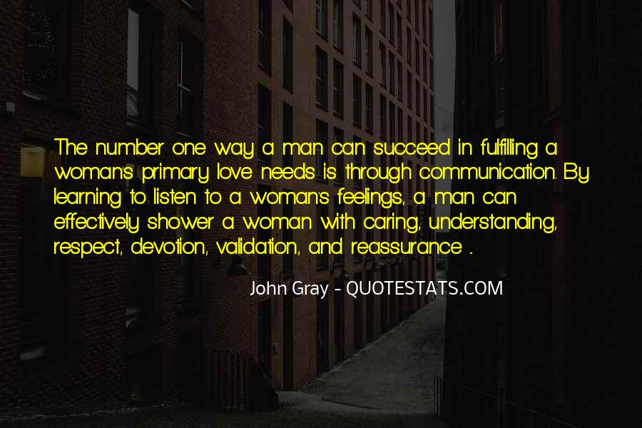 Woman Needs Quotes #622370