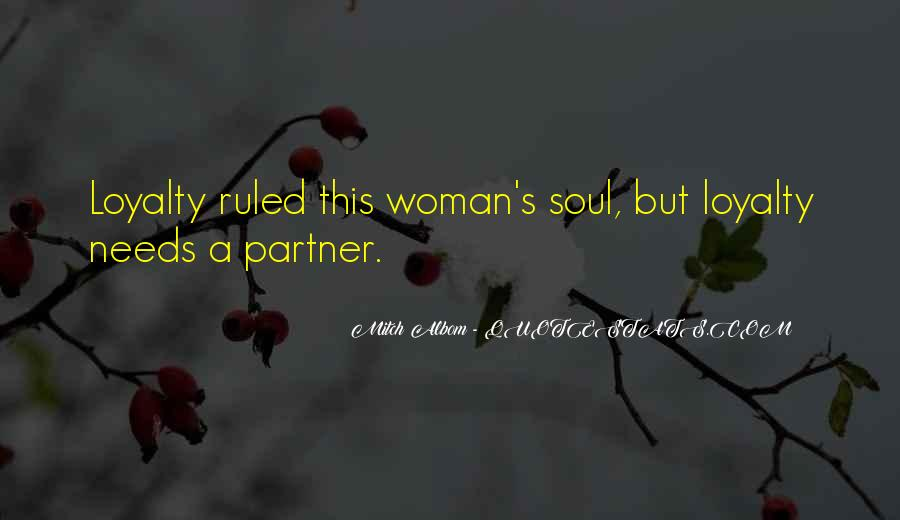 Woman Needs Quotes #74926