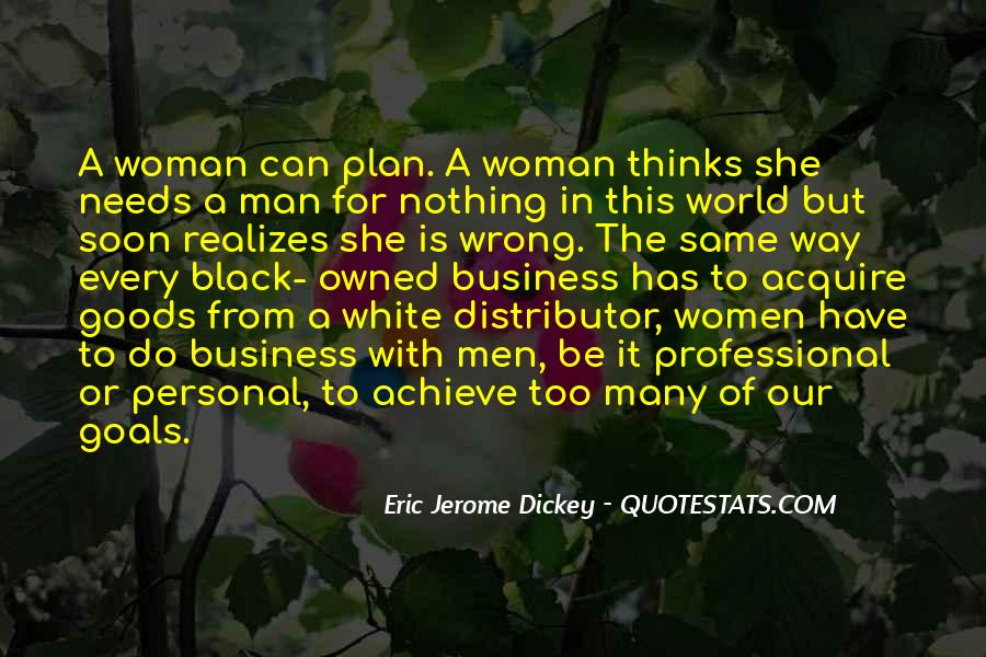 Woman Needs Quotes #78034