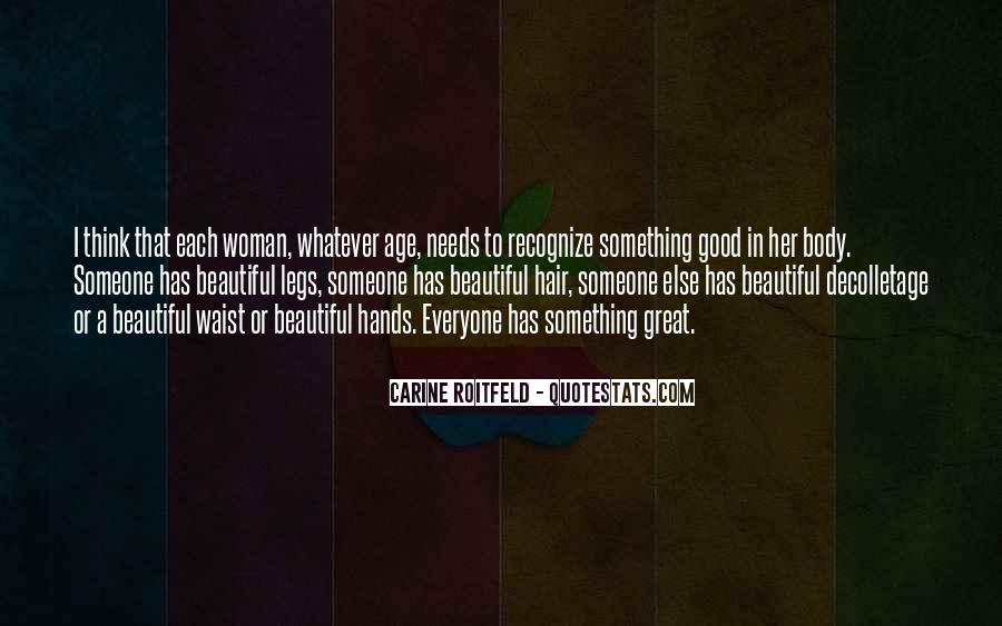 Woman Needs Quotes #80251