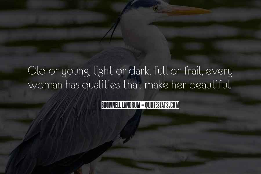 Woman Qualities Quotes #1249585