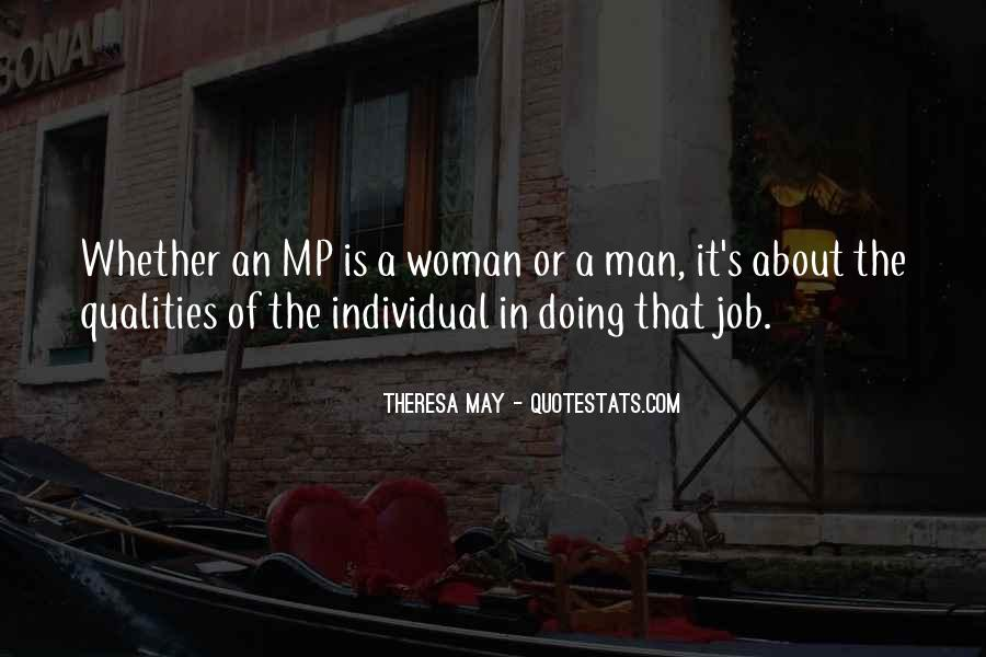 Woman Qualities Quotes #1422343