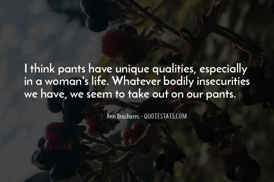 Woman Qualities Quotes #1492317