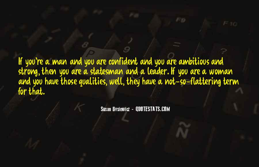 Woman Qualities Quotes #1494776