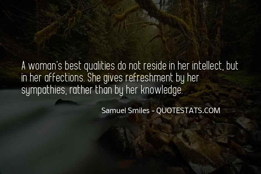 Woman Qualities Quotes #160005