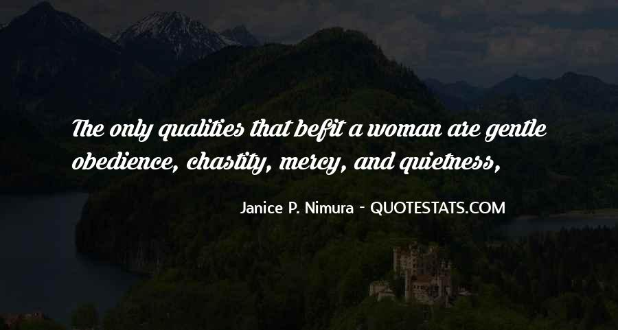 Woman Qualities Quotes #220913