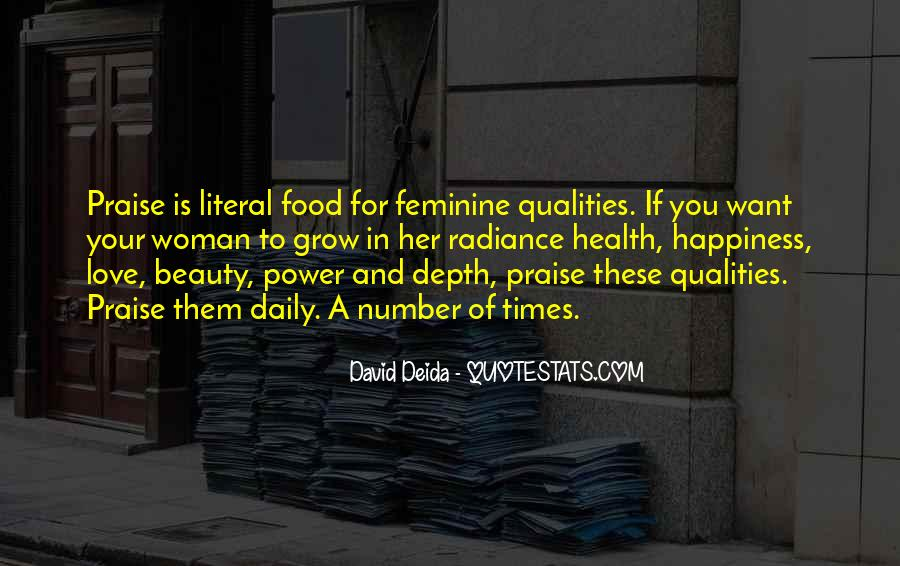 Woman Qualities Quotes #354582