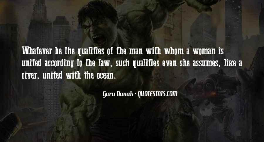 Woman Qualities Quotes #360101