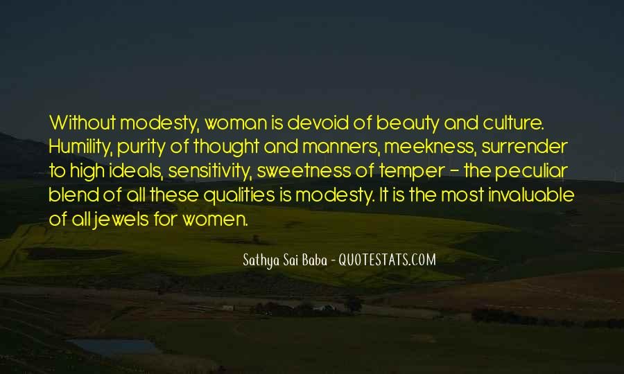 Woman Qualities Quotes #620924
