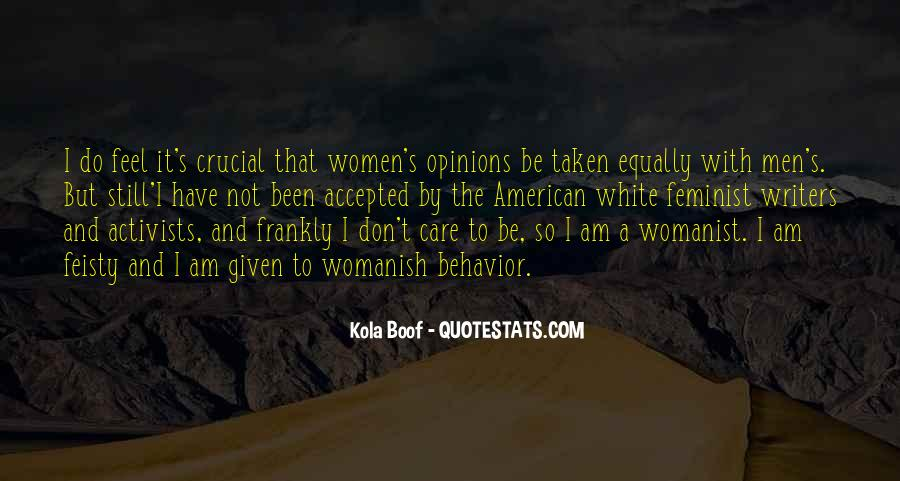 Womanist Quotes #359228
