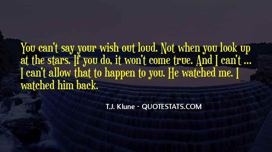Won't Look Back Quotes #1350698