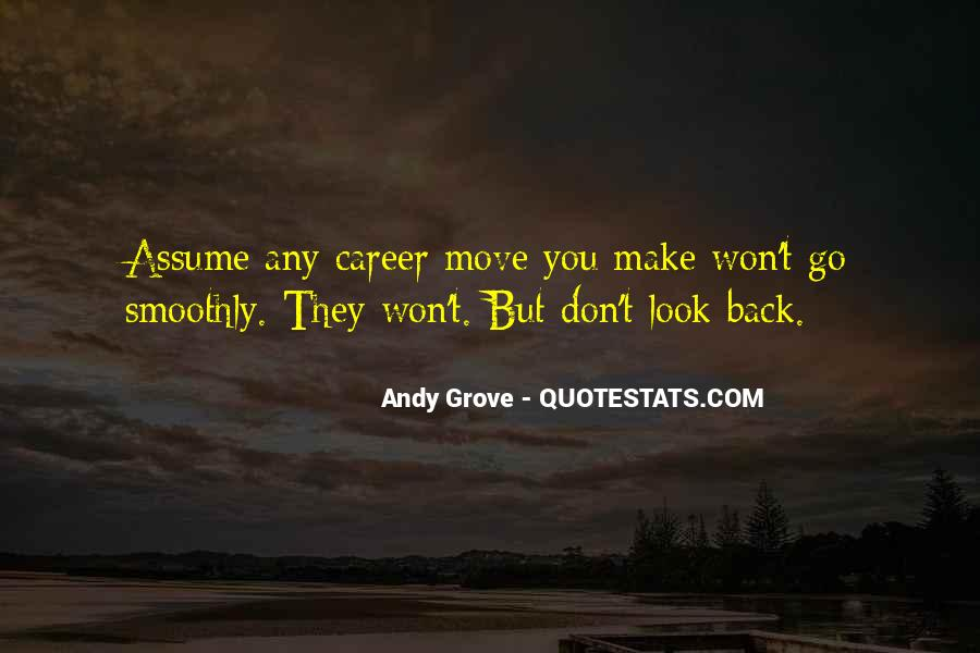 Won't Look Back Quotes #1539834