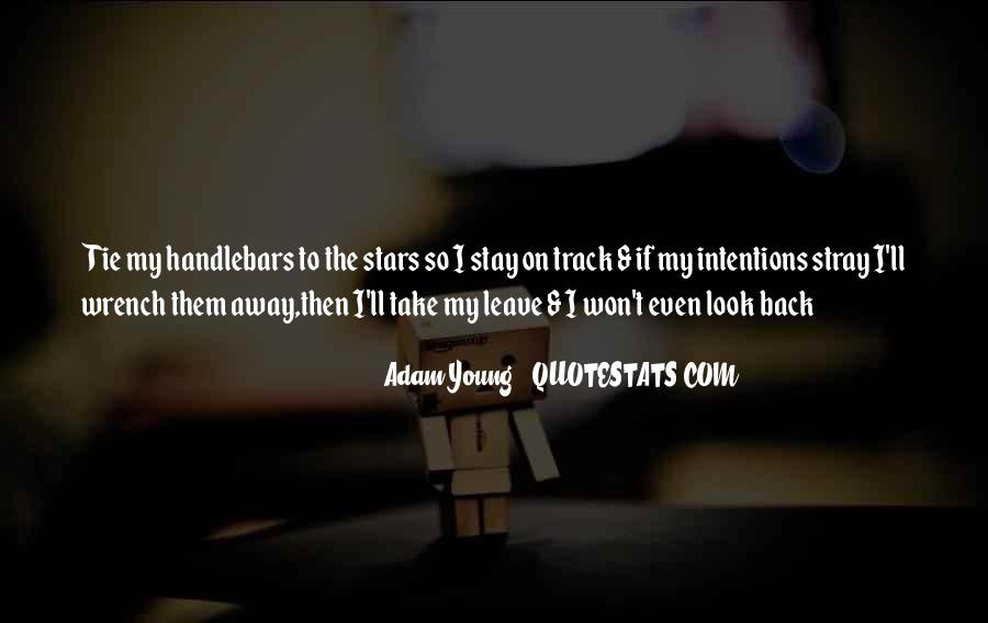 Won't Look Back Quotes #1727393