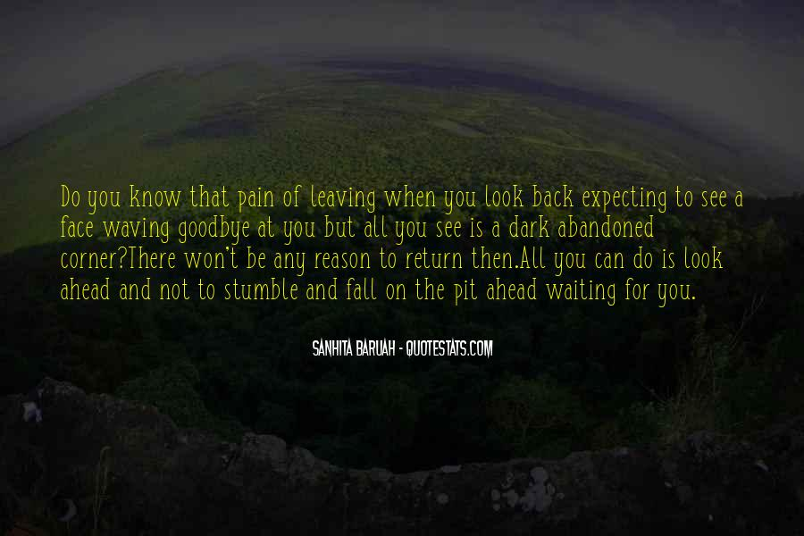 Won't Look Back Quotes #186104