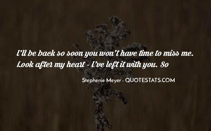 Won't Look Back Quotes #701377