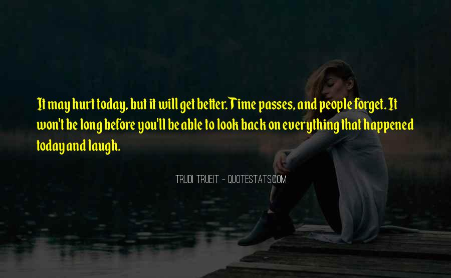 Won't Look Back Quotes #908682