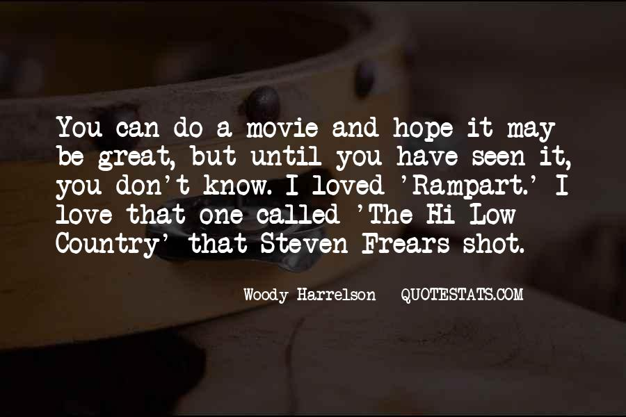 Woody Harrelson Movie Quotes #1863335