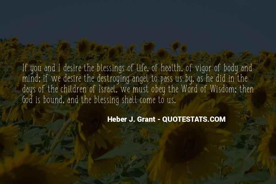 Word Of Wisdom Life Quotes #1026085