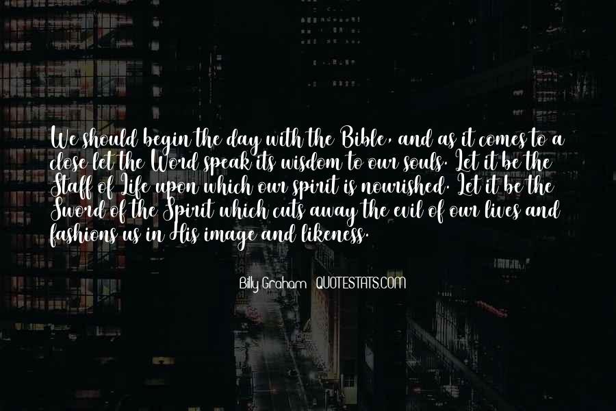 Word Of Wisdom Life Quotes #1038329