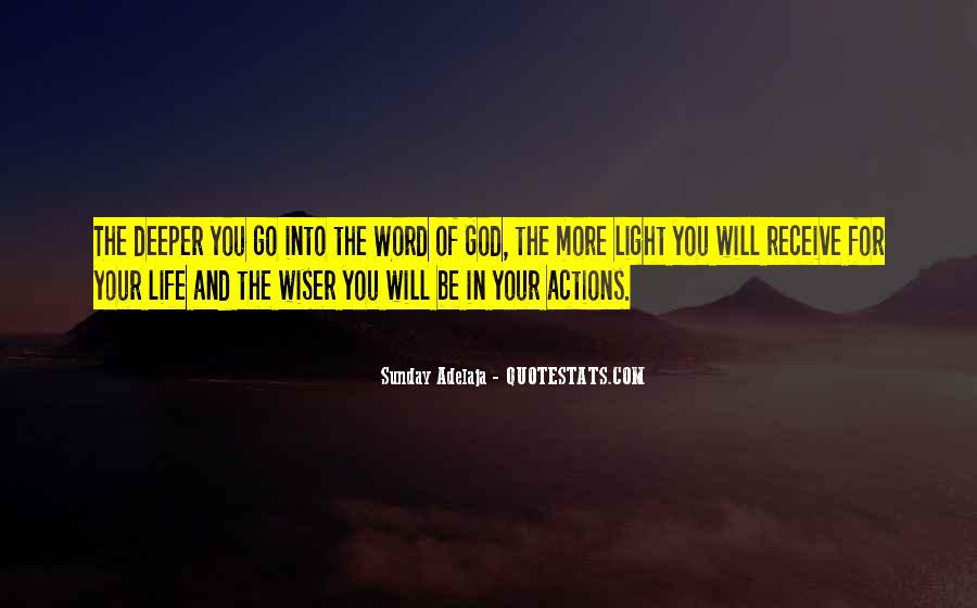 Word Of Wisdom Life Quotes #1057634