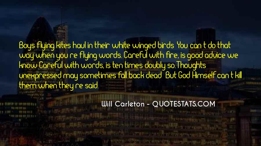 Words Can Kill You Quotes #133485