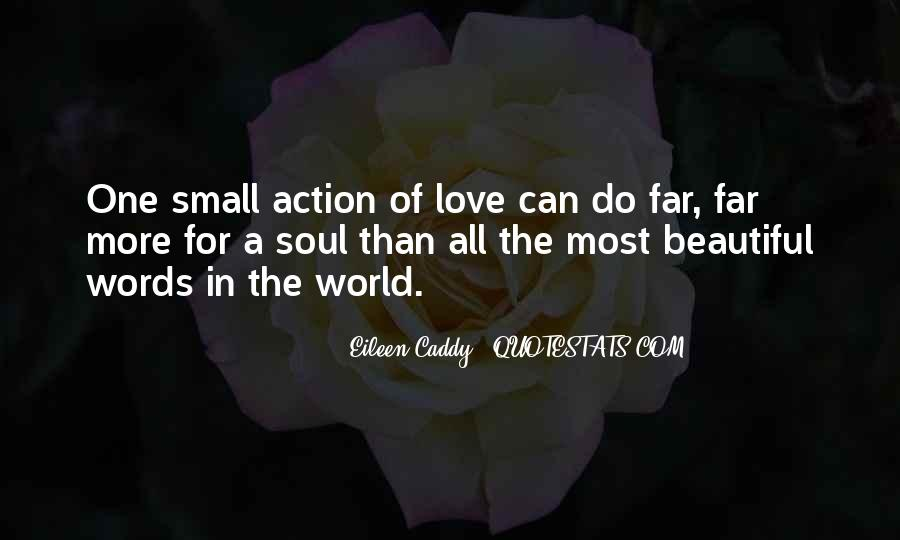 Words In Action Quotes #1191280