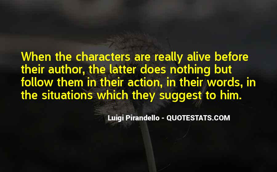 Words In Action Quotes #1230799