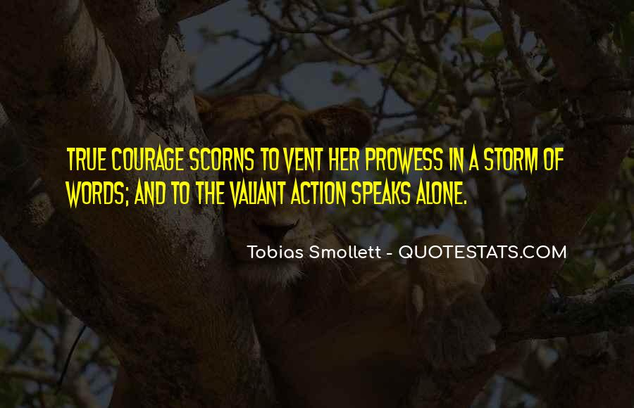 Words In Action Quotes #1647931