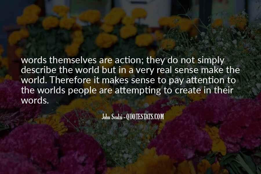 Words In Action Quotes #230314