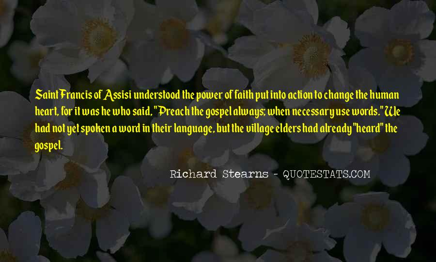 Words In Action Quotes #334293