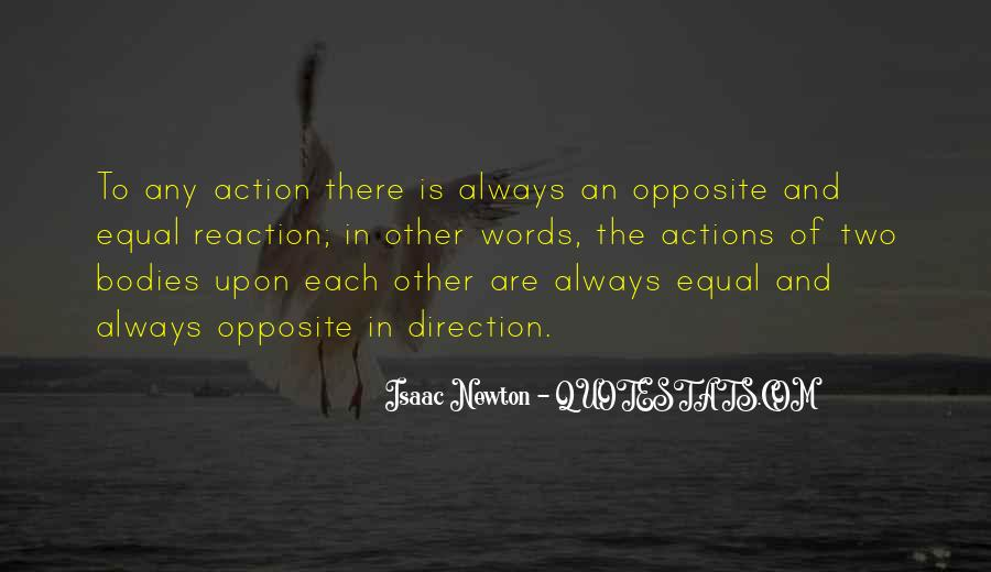 Words In Action Quotes #387021