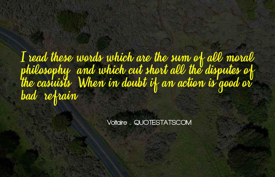 Words In Action Quotes #648331