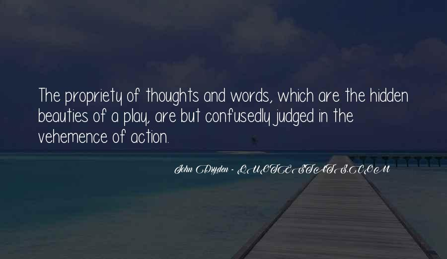 Words In Action Quotes #670474