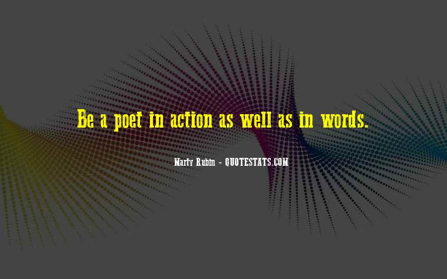 Words In Action Quotes #806119