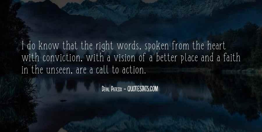 Words In Action Quotes #841868