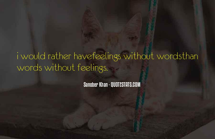 Words Of Feelings And Emotions Quotes #102334