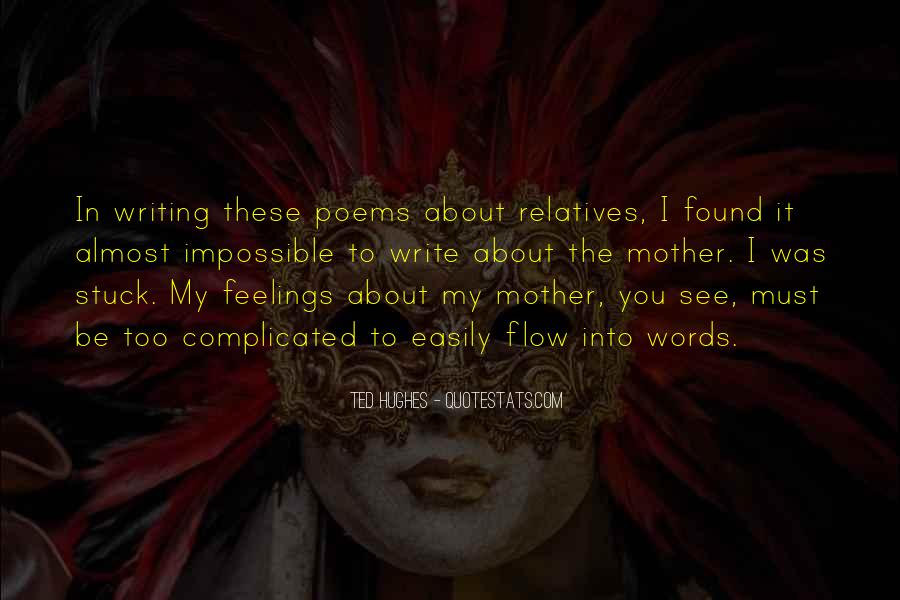Words Of Feelings And Emotions Quotes #1090716