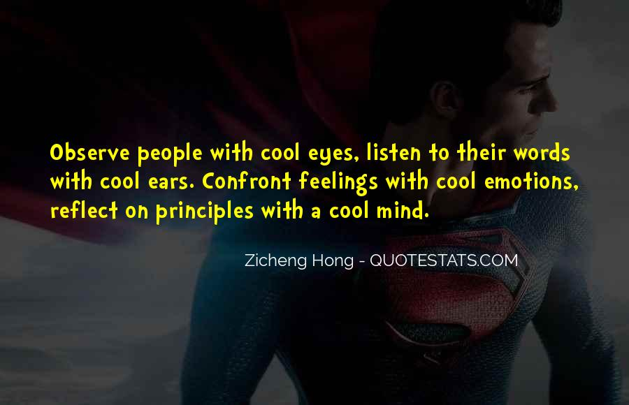 Words Of Feelings And Emotions Quotes #1778486