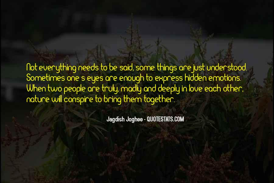 Words Of Feelings And Emotions Quotes #495958